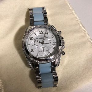 Michael Kors Sky Blue Watch Blair